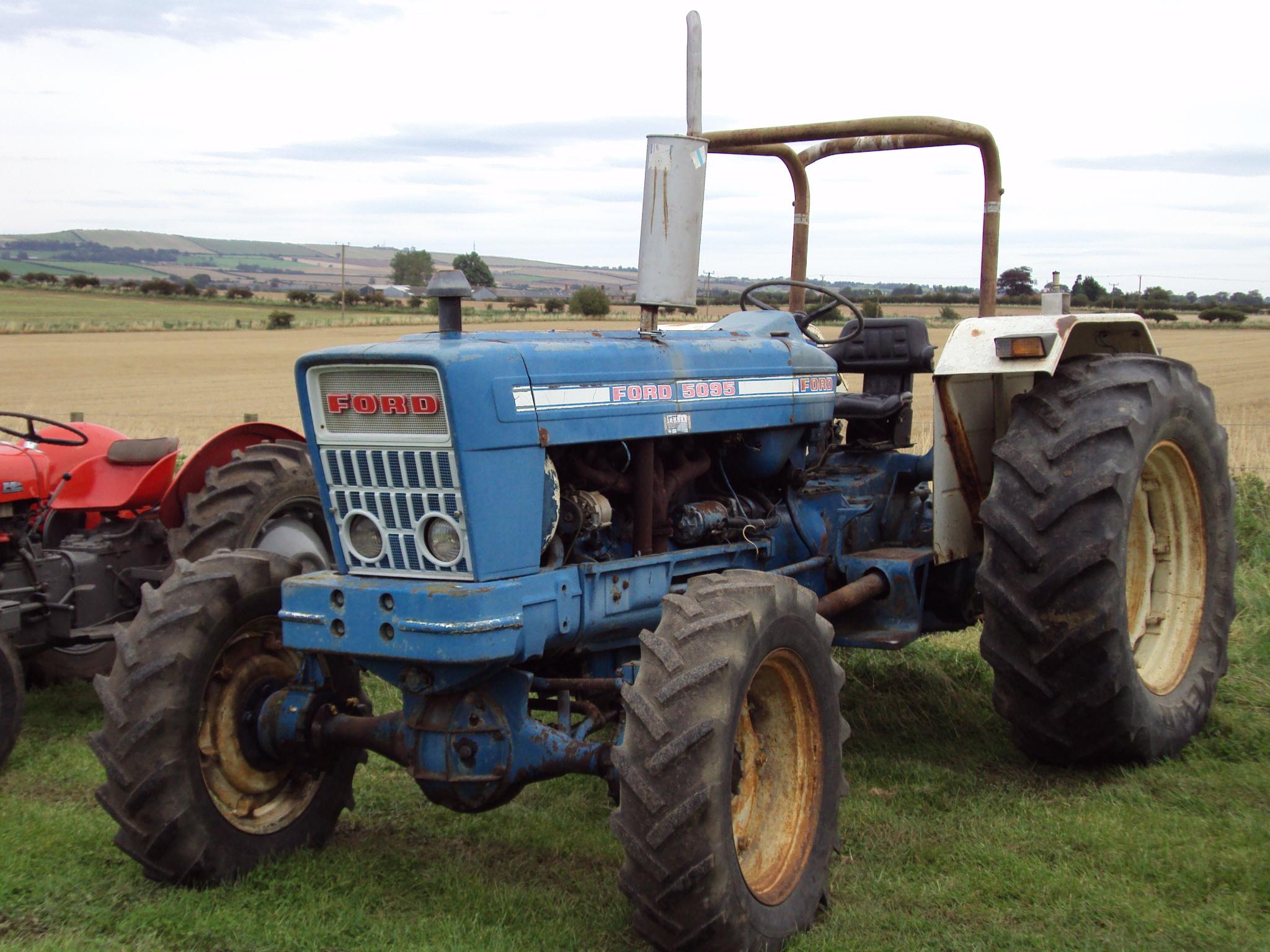Ford 601 Workmaster Amp 8n Tractors Equipment 1953 941 Powermaster Wiring Diagram 5095 4wd