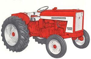 International 504 1962