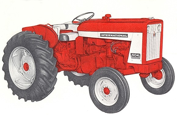 Red Brand New Farmall Tractors : International tractor construction plant wiki