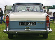 Wolseley 16-60 tail