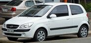 2008-2010 Hyundai Getz (TB MY09) S 3-door hatchback 01