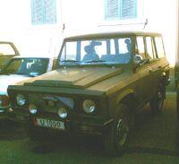 Aro as military jeep