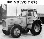 BM Volvo T 675 Industrial b&w