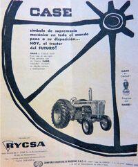 Case 830 (RyCSA) b&w ad