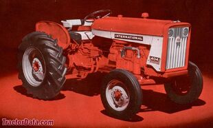 International 404 134.8ci I4 36.7 hp PTO