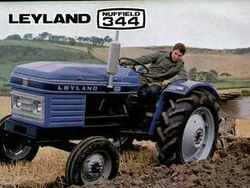 Leyland 344 brochure (Nuffield) - 1970