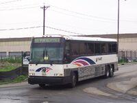 NJ Transit MCI D4000 hybrid 4004