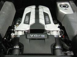 2007 Audi R8 Engine
