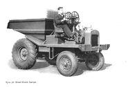 A 1950s AB Shuttle Dumper Diesel
