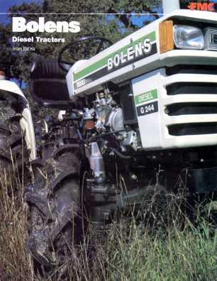 Bolens G244 | Tractor & Construction Plant Wiki | FANDOM