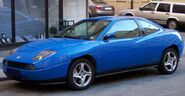 Fiat Coupe vl blue