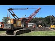 Priestman lion dragline