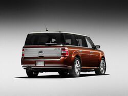 2009 Ford Flex (One Quarter Perspective)