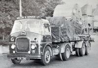 A 1950s GUY Invincible Haulage Tractor Diesel