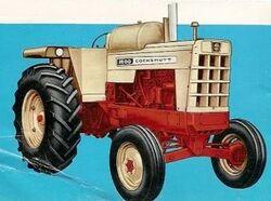 Cockshutt 1600 LP WF - 1964