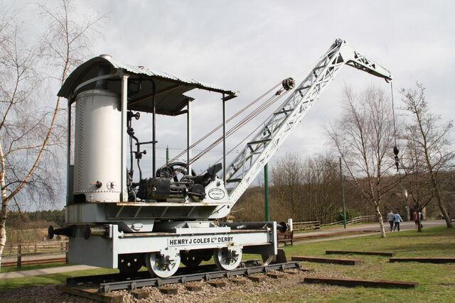 File:Coles 5 ton crane - 1917 at Beamish 2010 - IMG 1326.jpg