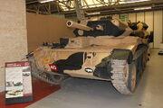 Crusader III Cruiser tank Mk VI at the Tank Museum