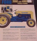 Ford 2000 LCG Industrial ad