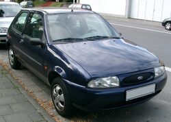 Ford Fiesta MK4 front 20070926