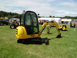 JCB 8020 mini excavator