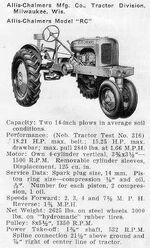 AC RC b&w ad - 1940