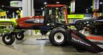 MacDon M150 windrower with D60-D draper