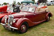 1950 Riley RMD drop head coupé