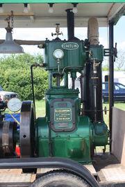 Bellis & Morcom no 8890 engine CAITLIN - at Astwood bank 09 - IMG 3431