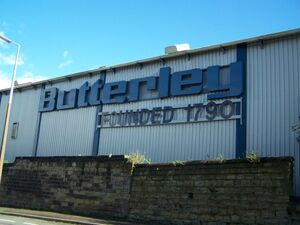 Butterley Company Sign 2006