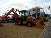 Case 580 super R backhoe loader
