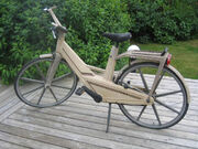 Itera plastic bicycle