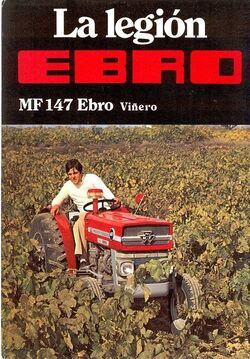 MF 147 Ebro vineyard brochure