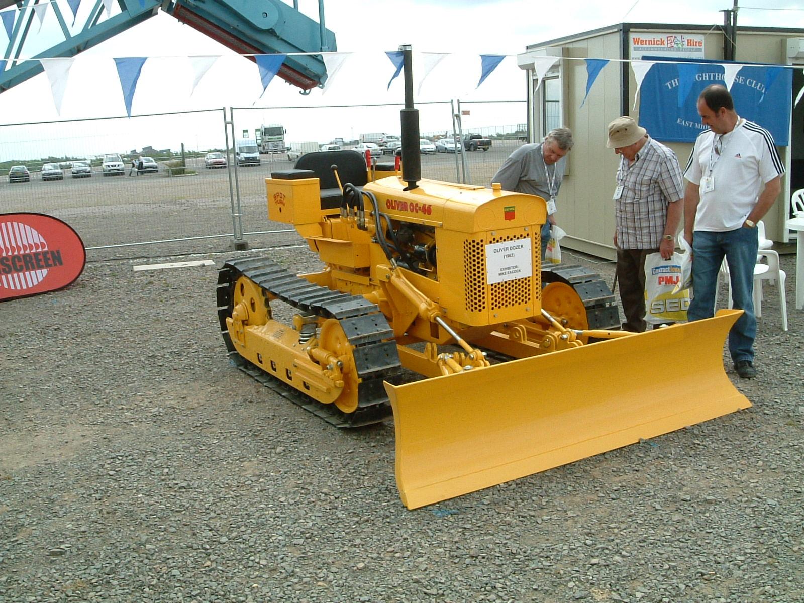 Oliver Oc 46 Tractor Amp Construction Plant Wiki Fandom