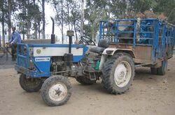 Swaraj 735 (blue)