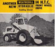 A 1970s Weatherhill 14HTC Diesel
