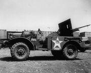 Dodge wc55 m6 37 mm GMC