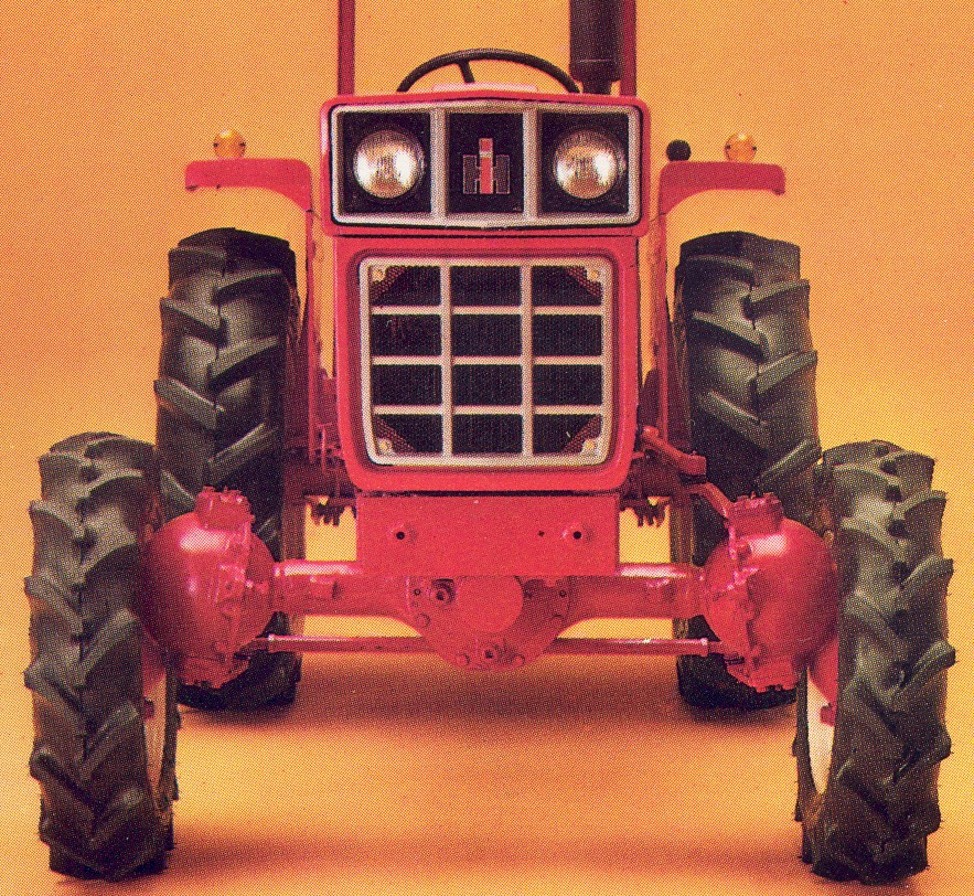 International 284 Diesel 4wd Tractor Amp Construction