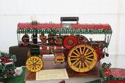 Meccano model showmans engine - at Scorton NY 09 - IMG 2170