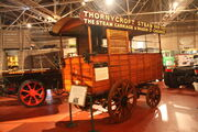 Thornycroft Steam Van - in BCVM - 09 - IMG 3809