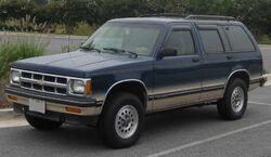 1st Chevrolet S-10 Blazer 4-door