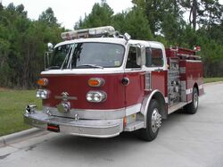 Autryville Area Fire Department Engine 1211 - 1979 American LaFrance Century Type 1000 (retired)