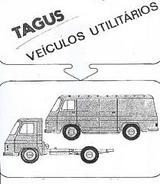 GV SEMAL TAGUS Camioneta e Furgão 4X4 Diesel em 1983