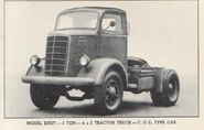 MACK EHUT, 5-ton, 4x2 truck, tractor, COE type cab