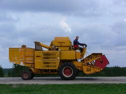 Sampo 30 combine harvester