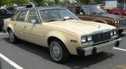 1981 AMC Concord 4-door beige PAfr