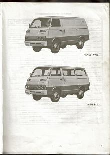 22- Mitsubishi COLT T120 1977 & 1978 (all models) General View Pic's 4 5