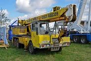 ALLEN- GROVE H2564 Cranetruck 6X4 Diesel on daily work