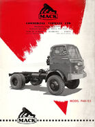 A 1960s Mack PA-8125 4X4 Diesel Lorry
