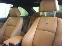 BMW Alpina B3 Biturbo E92-Leder-Vordersitze in Dakota-braun