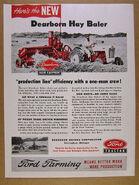 Dearborn hay baler ad